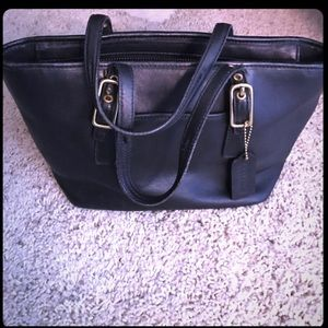Great little brown coach purse